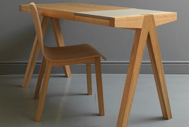 By john lewis stools benches pinterest for Grauer schreibtisch