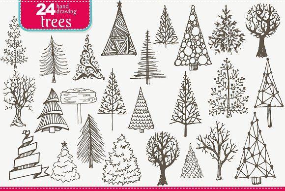 XMAS TREES  @creativework247