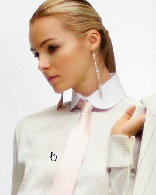touching stiff collar | by rabinal