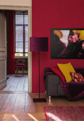Γγρ│ Framboise, prune et moutarde, un salon aux couleurs parfaites ...