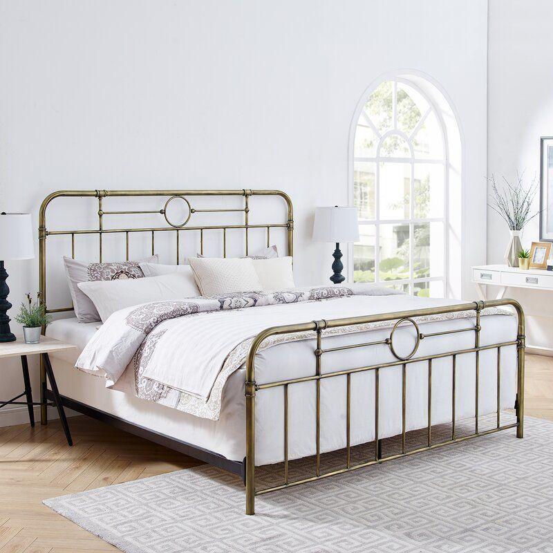 Best Wilhelmina Standard Bed In 2020 Bed Simple Bed Bed 640 x 480