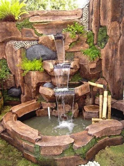 84 Diy Backyard Waterfall Ideas To Beautify Your Home Garden Em