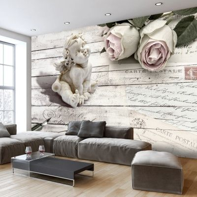Fototapete 400x280 cm Home ideas Pinterest Wallpaper murals - wandgestaltung mit drei farben