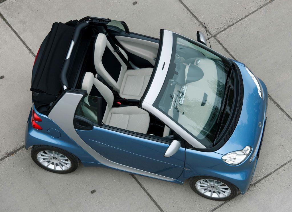 Smart Fortwo Passion Cabrio A451 2010 12 Smart Roadster Smart Fortwo Smart Car