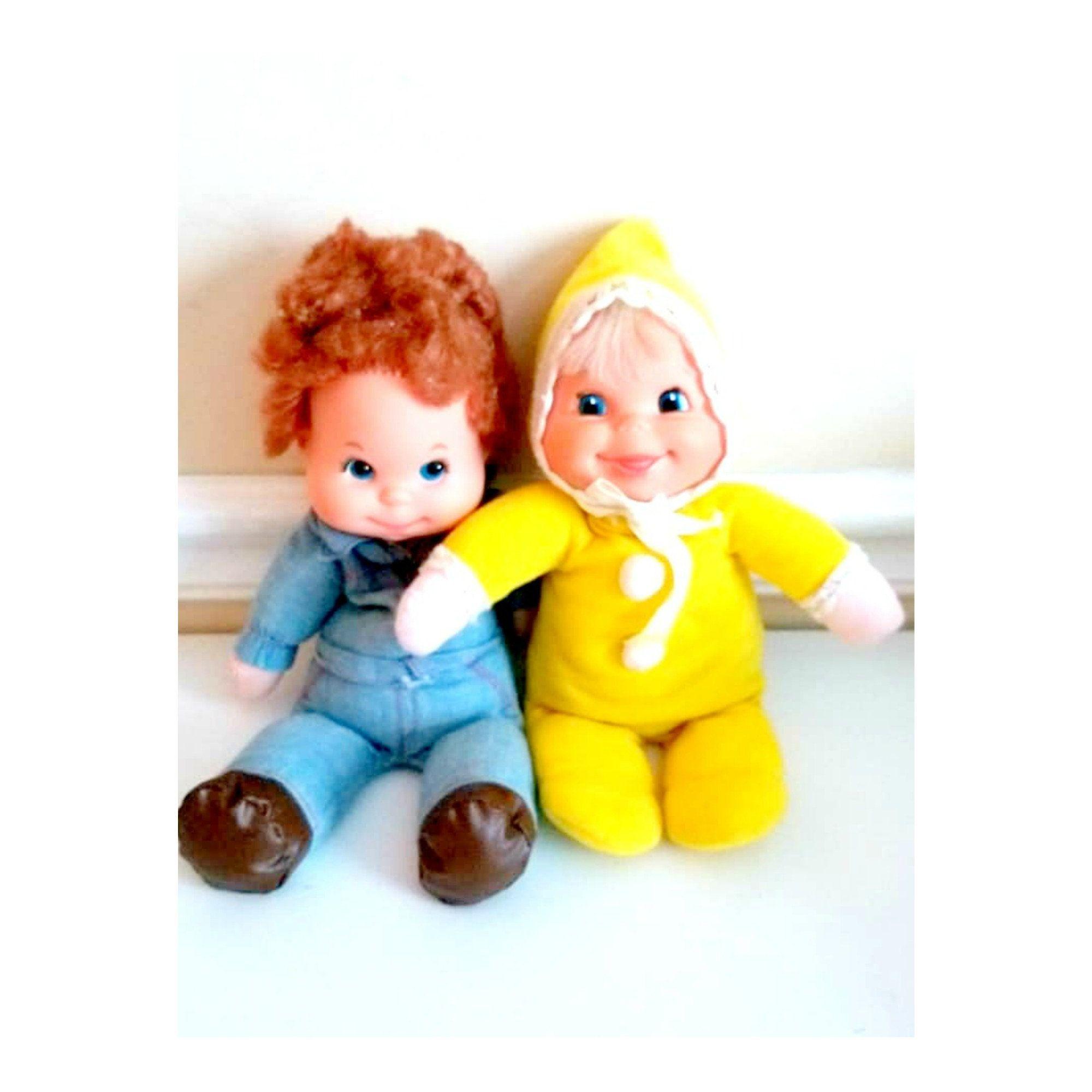 Vintage Mattel Baby Beans Doll,Set of 2 1970s #vintagetoys