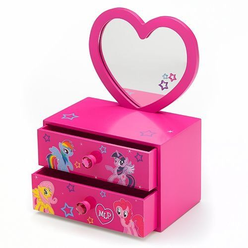 My Little Pony Jewelry Box Gorgeous My Little Pony 2In1 Jewelry Box With Removable Mirror * You Can Get Design Decoration