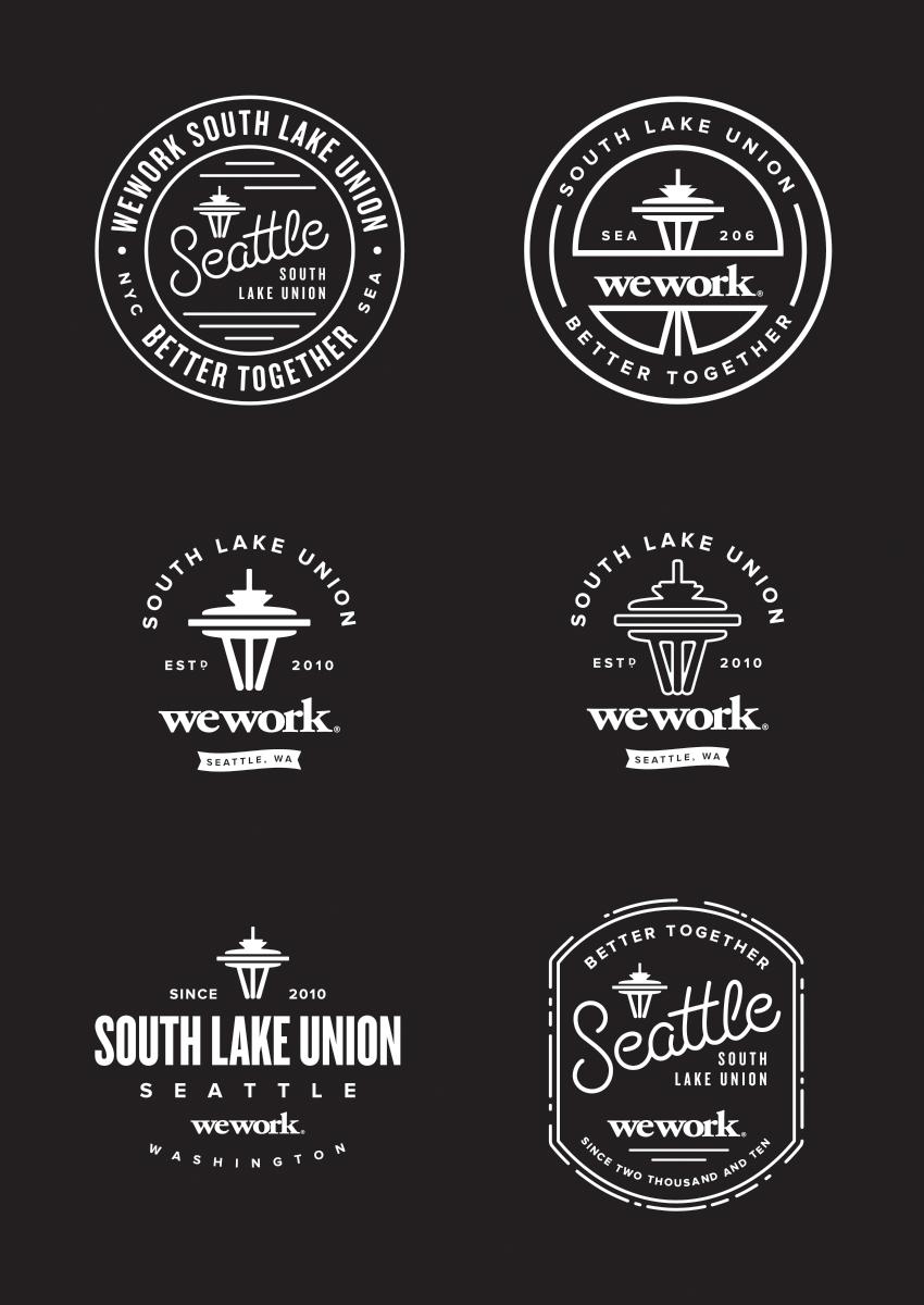 Pin By Dustin Lee Casey On L O G O A R T I S T R Y Logo Inspiration Vintage Seattle Logo Union Logo