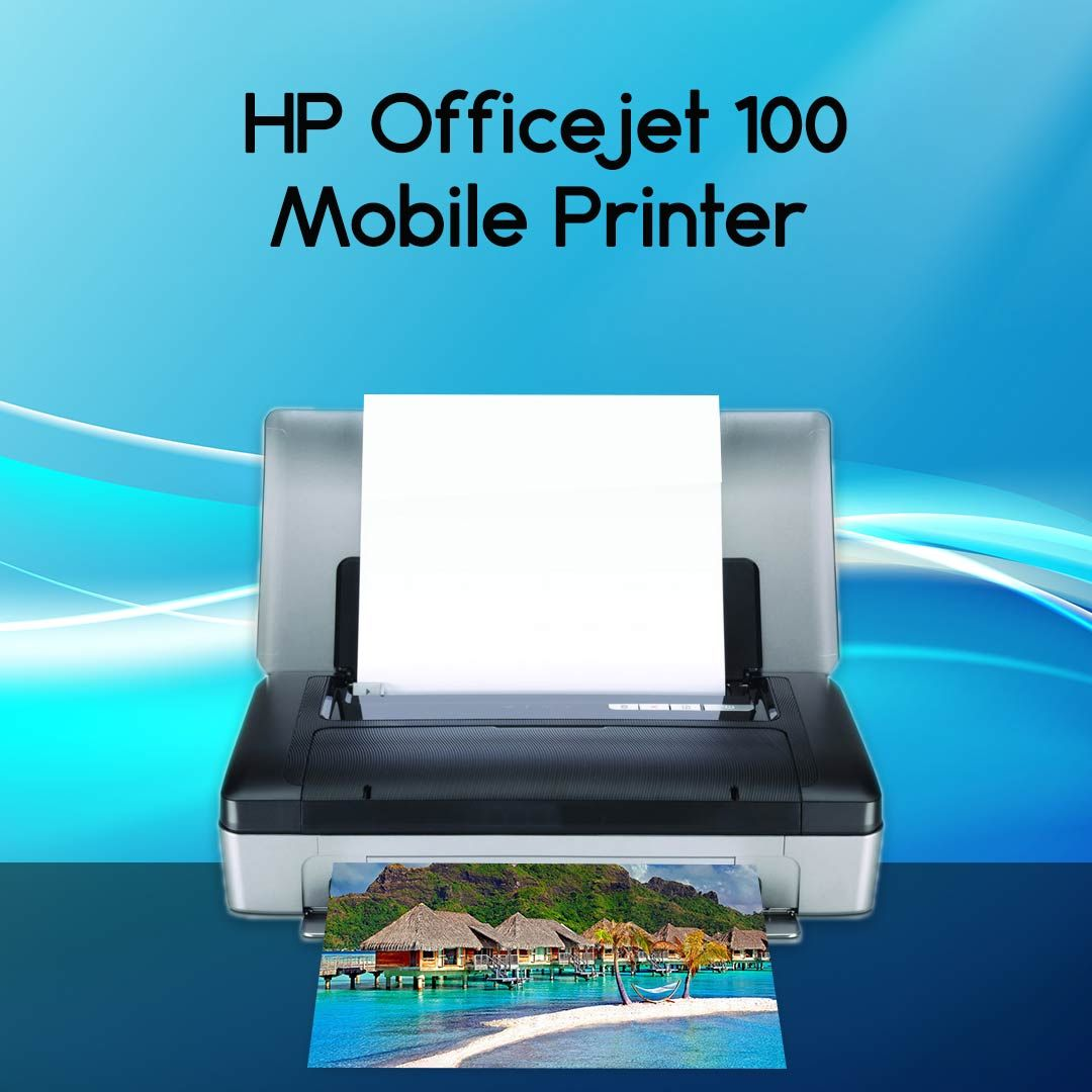 Hp Officejet 100 Mobile Printer Mobile Printer Hp Officejet Deskjet Printer