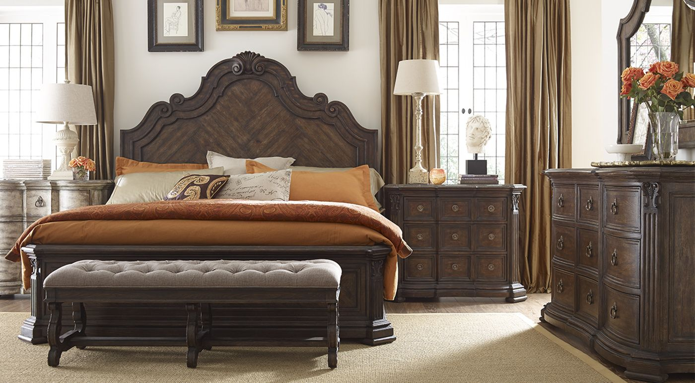 Find this luxurious bedroom and other beautiful