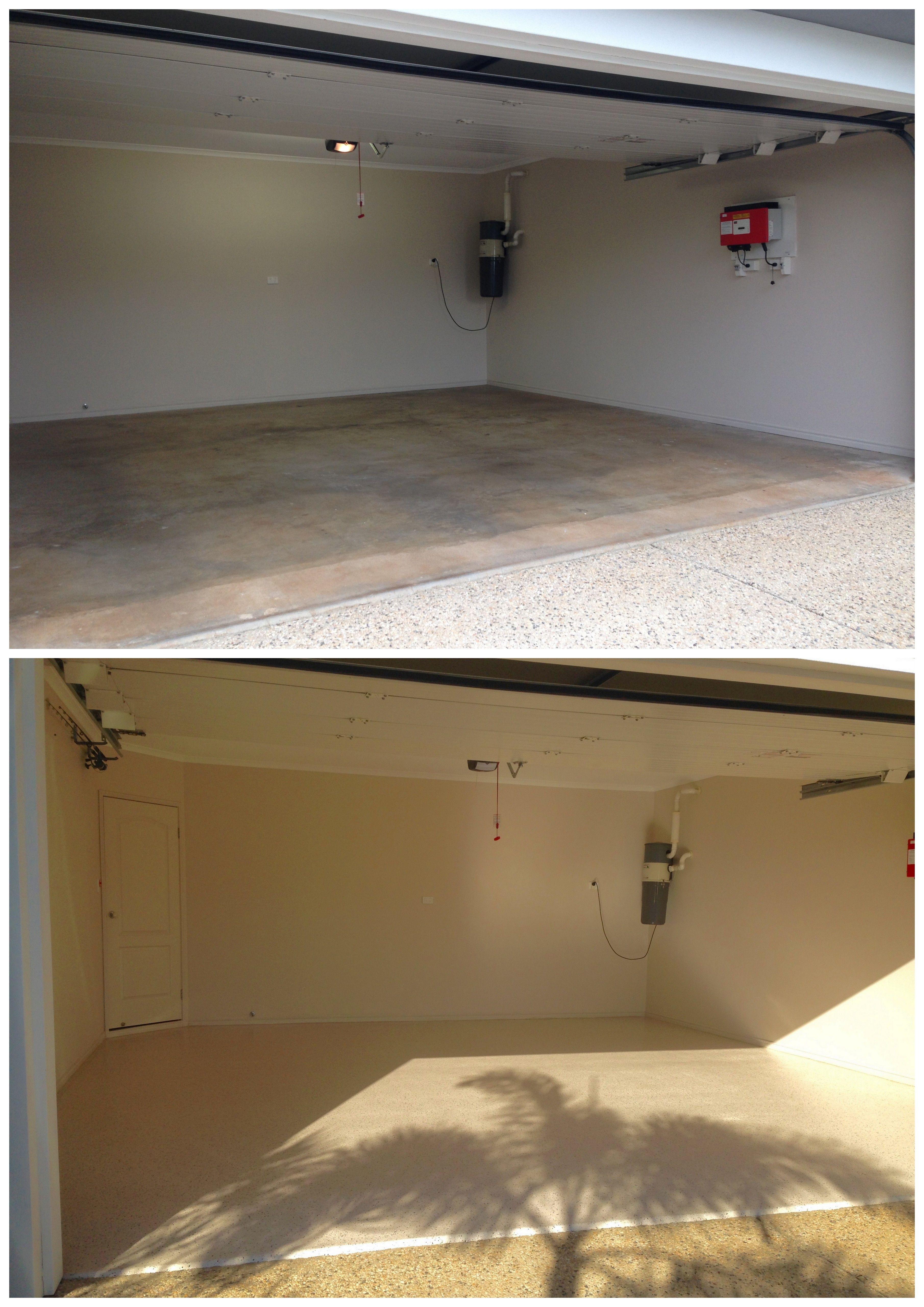 Buderim Epoxy Flooring by The Garage Floor Co. Transform