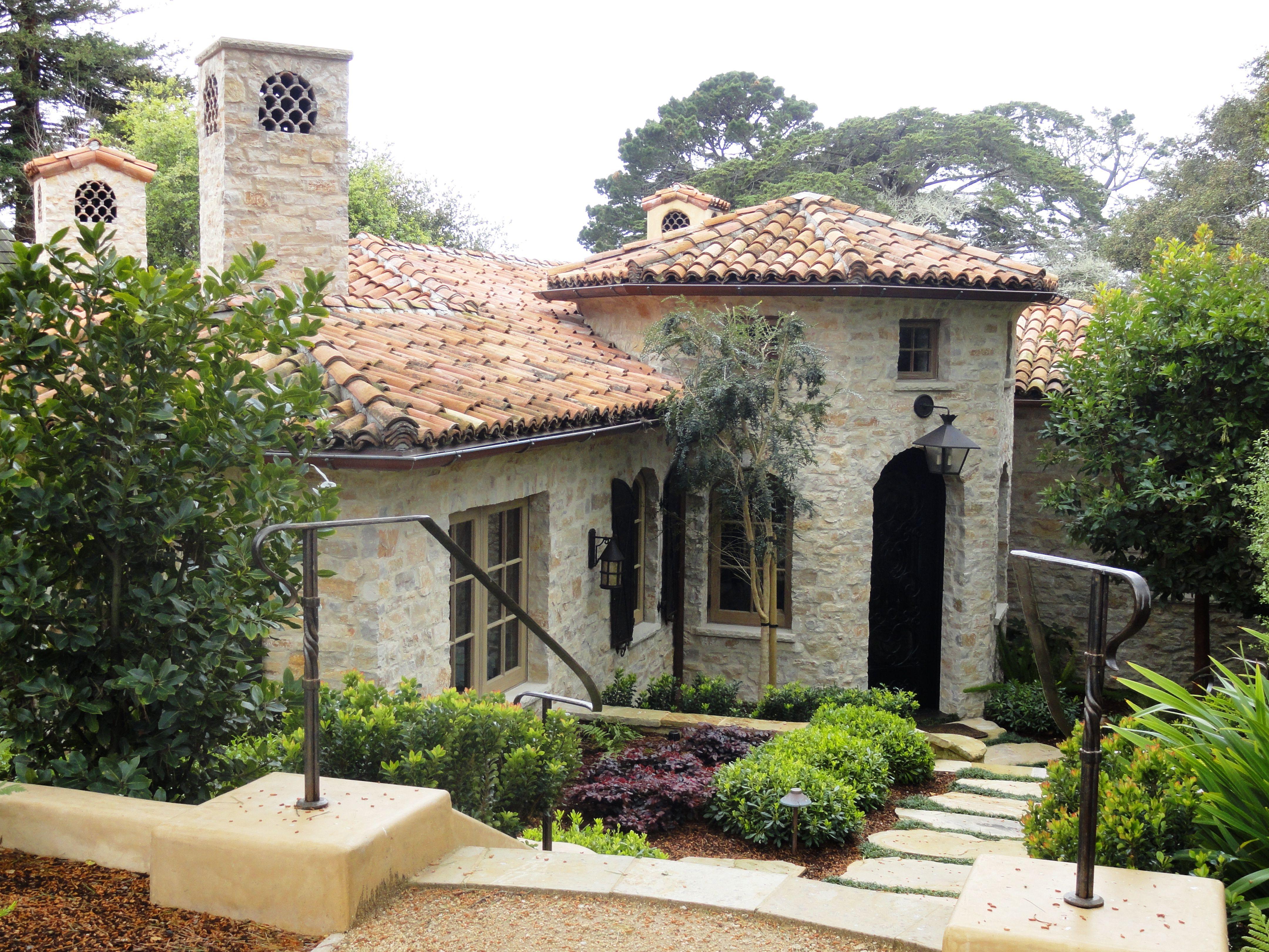 Mediterranean Home Splendor Dwell Home Exteriors Pinterest Tuscan Style Exterior Design