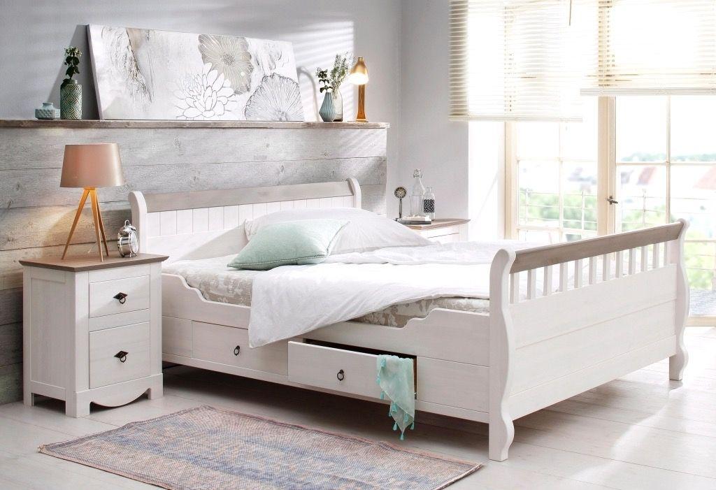 Tolle bett 140x200 weiß günstig Deutsche Deko Pinterest - günstige komplett schlafzimmer
