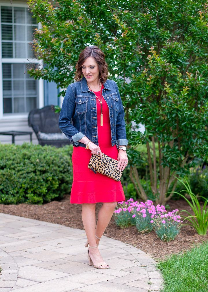 d5bad0eb3fd Flirty Red Sweater Dress for Summer