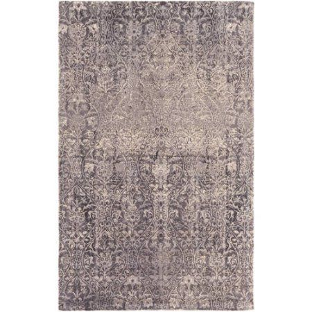 Art of Knot Palmetto Area Rug, Beige