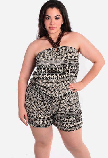 e3eb4dbe1d32 Plus-size shorts