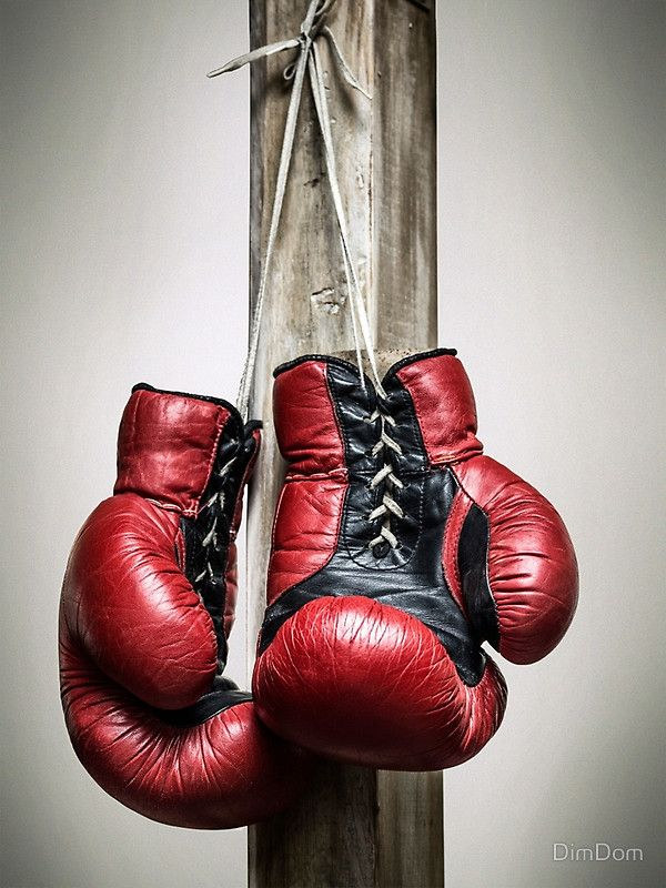 Red Vintage Boxing Gloves Canvas Print Redbubble Pins