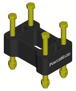 PowerMadd 45503 Non-Pivot Riser Block for Arctic Cat (up to 1999) and Polaris...