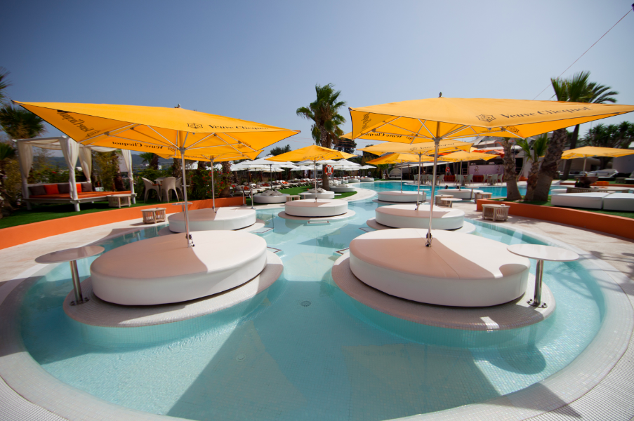 Relax On One Of Our VIP Pool Beds This Summer At The Beach Club, Ocean