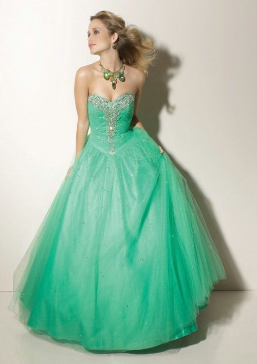 long puffy prom dresses 2012 Long Puffy Prom Dress: Make it more ...