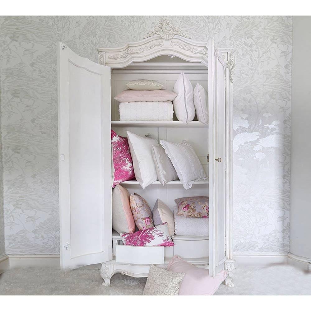 Provencal Classic White Armoire   White armoire, Classic white and ...