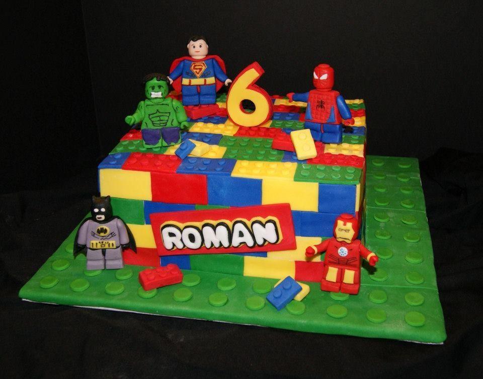 Lego Superhero Cake Betniebakes Cakes By Betnie Bakes