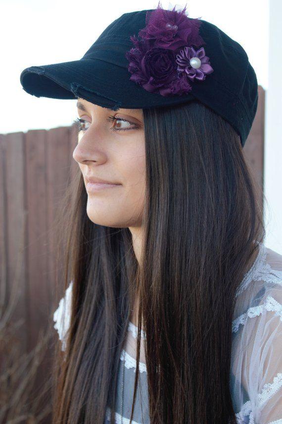 abdf5acfd85 Black womens hat
