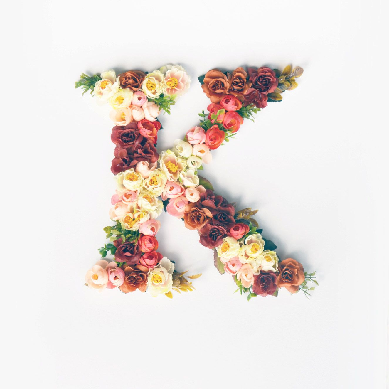 A personal favourite from my Etsy shop https://www.etsy.com/listing/466827550/flower-monogram-nursery-initials-nursery
