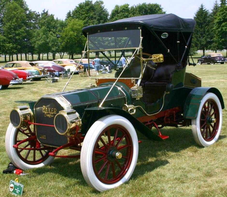 1907 Baker Electric #electric #cars Oh Yeah Baby
