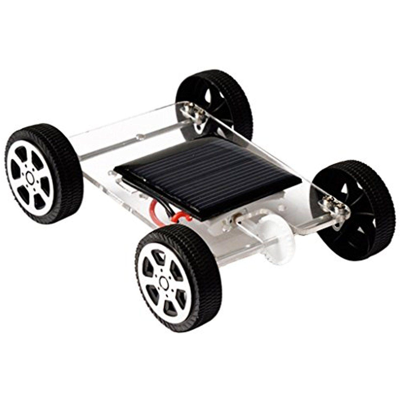 Educational car toys  Dovewill DIY Assemble Toys Set Solar Powered Car Kit Educational