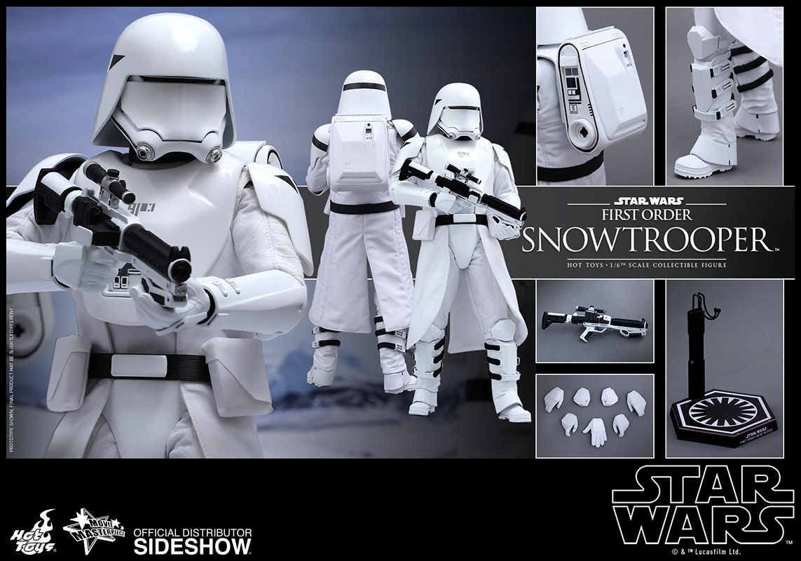 Hot Toys First Order Snowtrooper Sixth Scale Figure