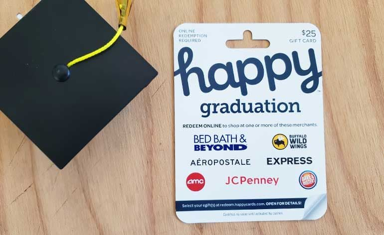 Happy graduation egift card with the most choices