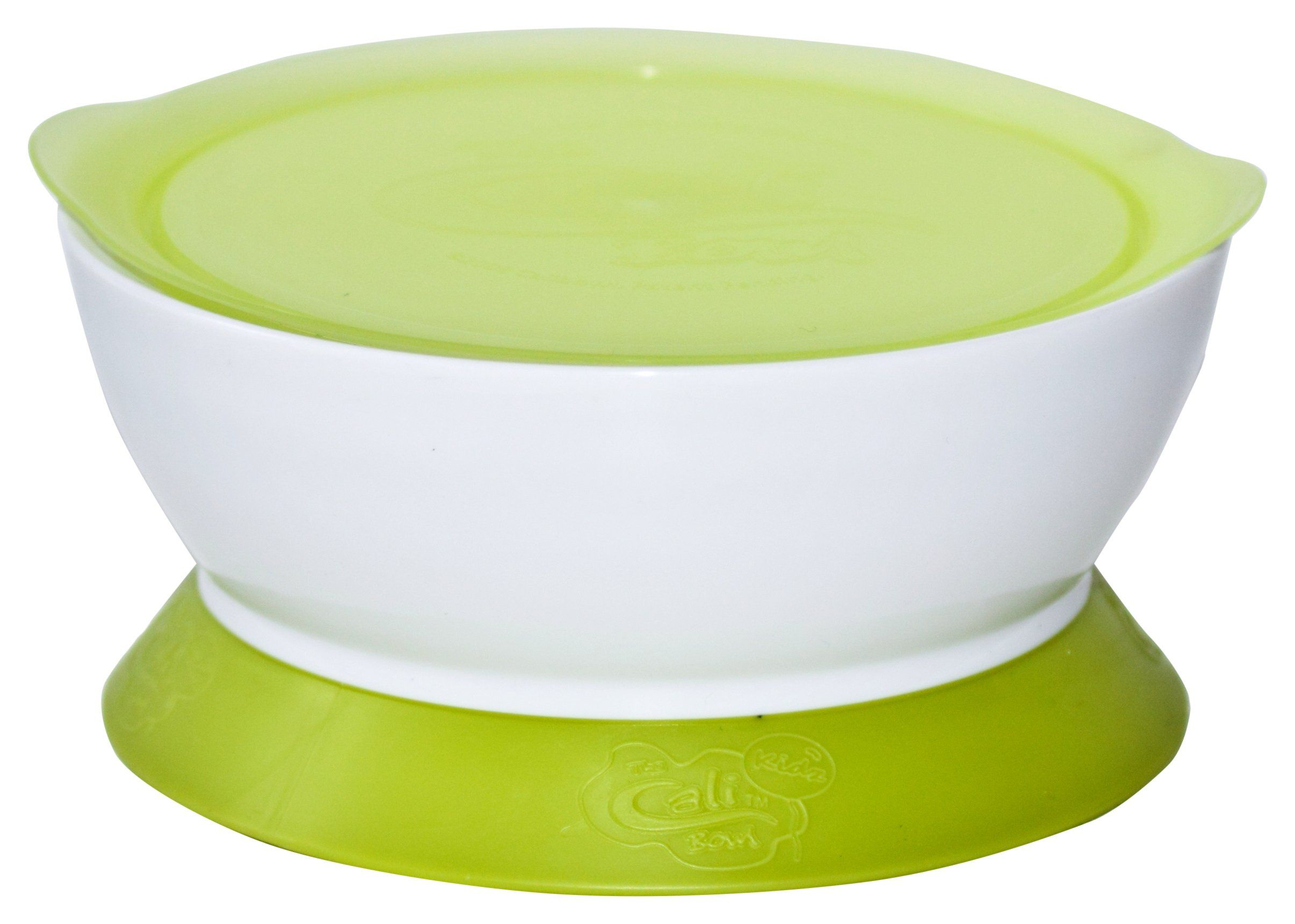 Amazon Com Calibowl 1 1 2 Cup Suction Bowl And Lid Green Mixing Bowls Kitchen Dining Suction Bowls Bowl Mixing Bowls