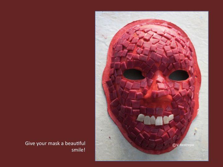 Aztec Mask Art Project