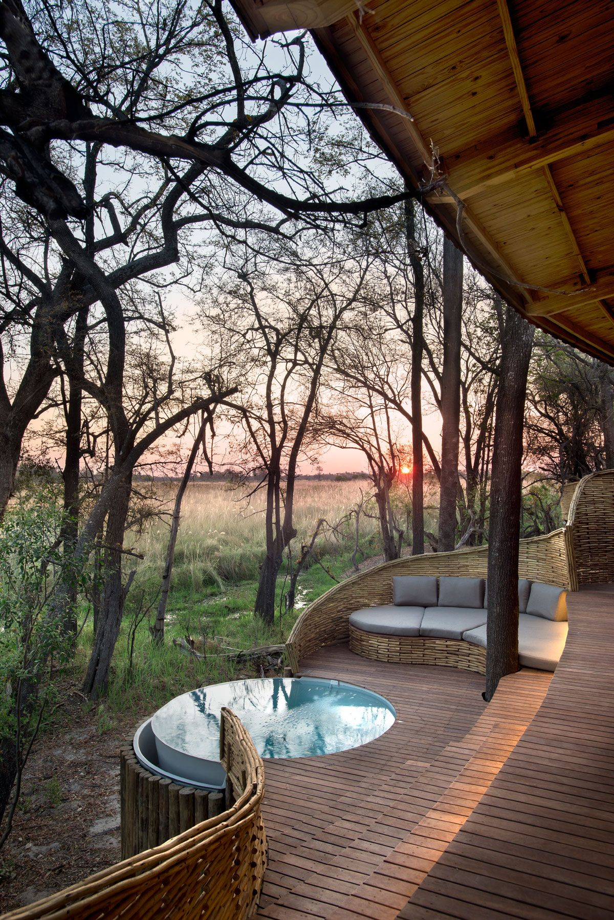Agreable Where The Elephants Roam: Sandibe Safari Lodge By Fox Browne And Michaelis  Boyd