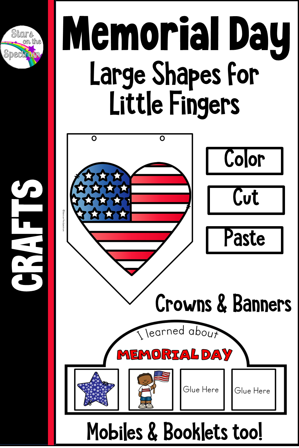 Memorial Day Labor Day Flag Day Crowns Banners And Mobiles Memorial Day Teaching Schools Patriotic Holidays [ 1440 x 960 Pixel ]