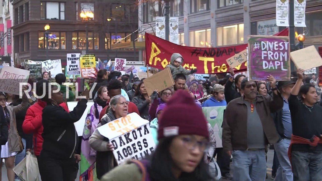 Anti Trump Protesters March Through New York City To Protest Trump E4u Trump Protest Anti Trump Trump
