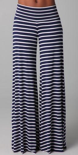 wide leg & stripes!
