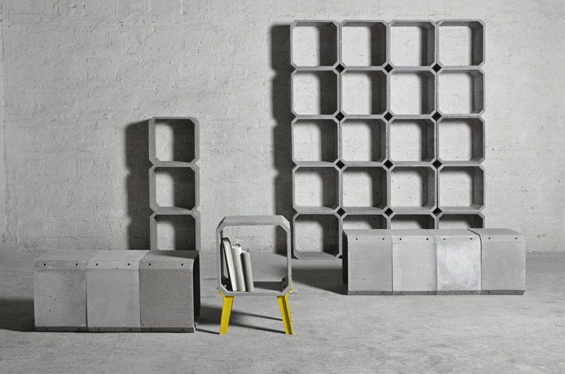 Zhi And Kou Modular Cement Furniture By Bentu Design   Homeli