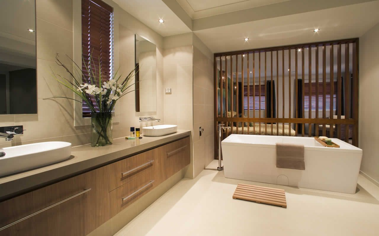Laguna new home images modern house images metricon for Bathroom designs melbourne