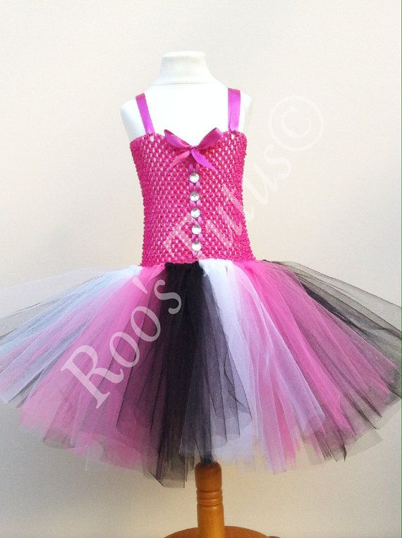 Draculaura, Monster High inspired tutu dress costume (Handmade ...