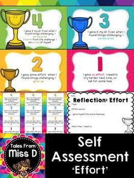 Visible Learning  Self Assessment Effort  Formative Assessment