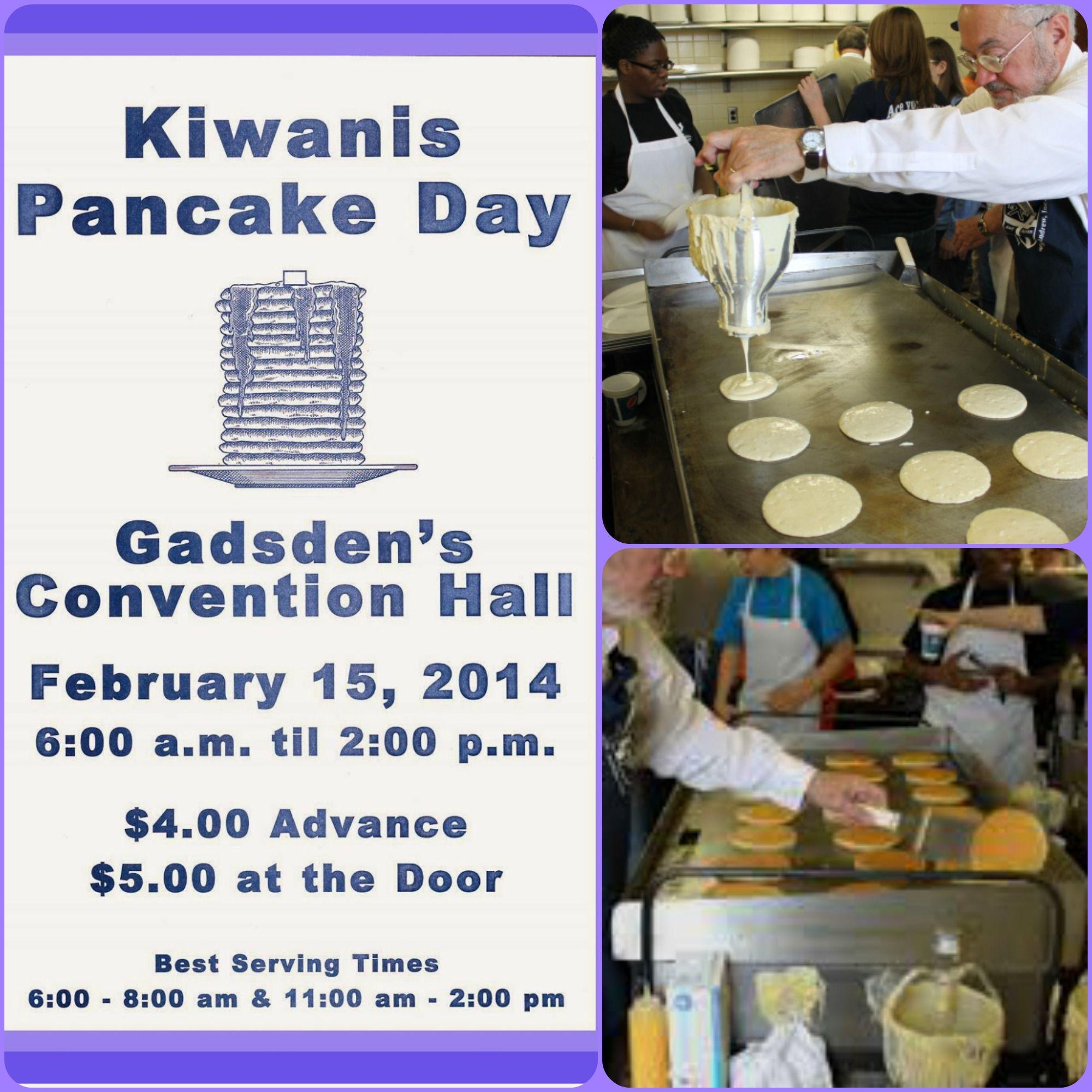 Annual Kiwanis Pancake Day