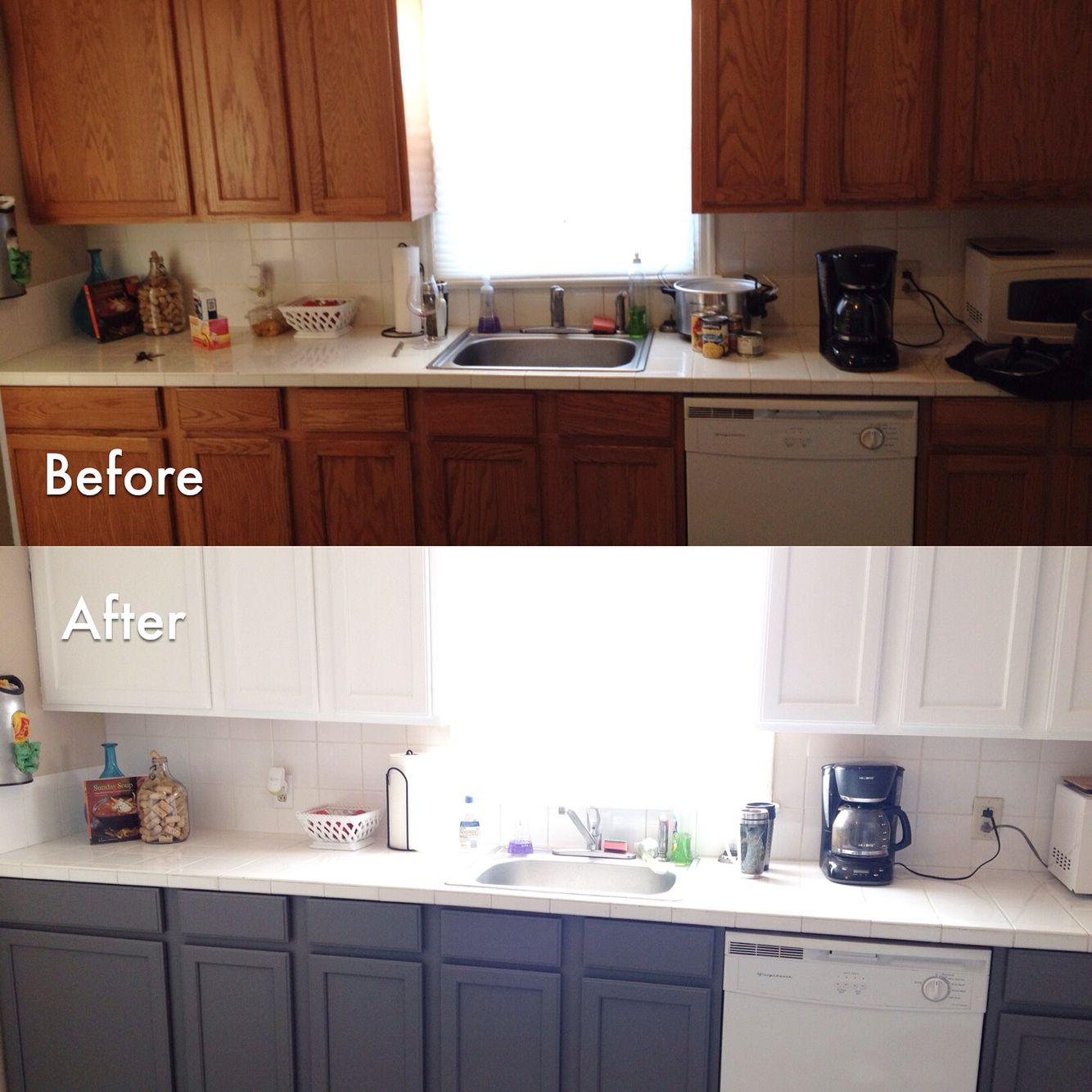 Kitchen cabinets #homestagingavantapres