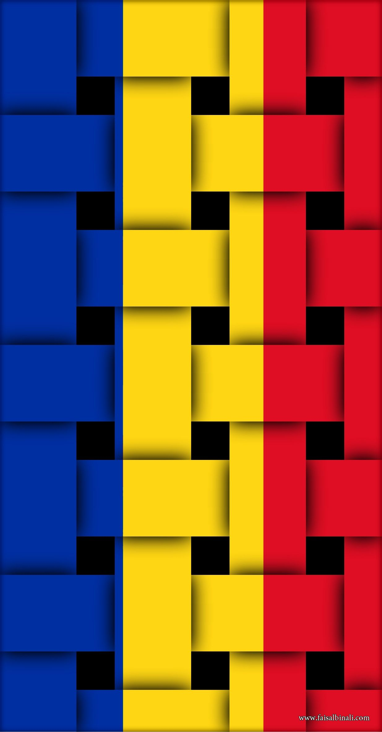 Romania Flags Artwork Wallpapers For Smartphones