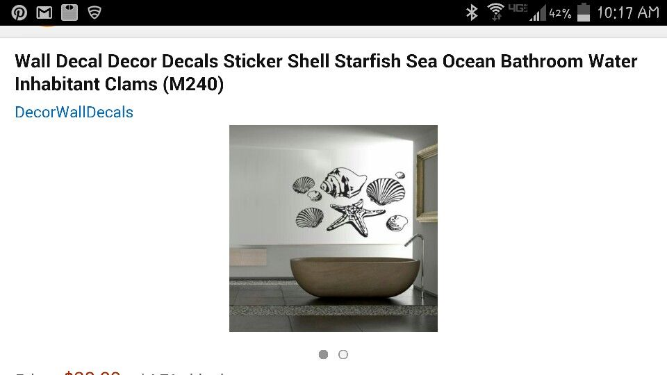Wall decal options