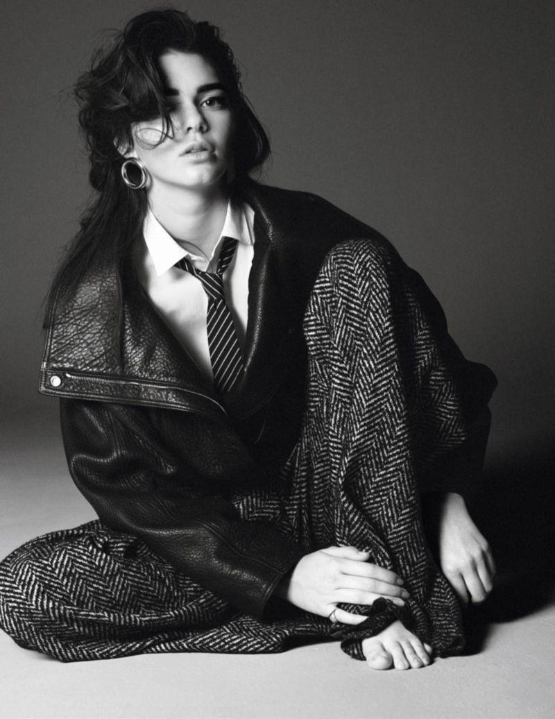 Kendall Jenner se masculiniza para Vogue París