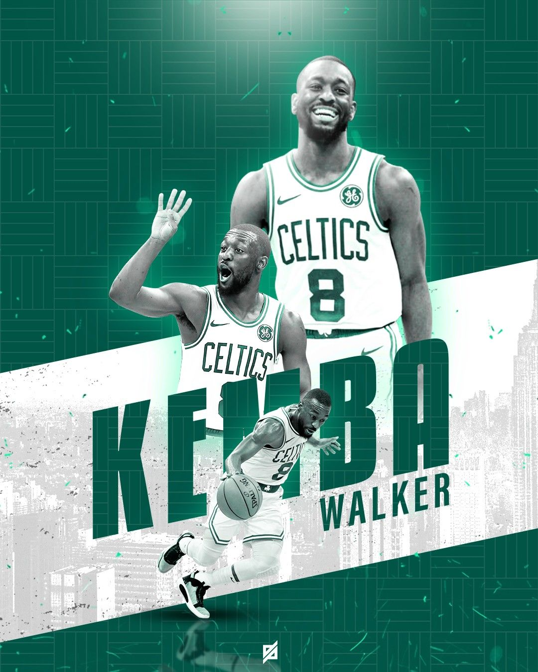 Cardiac Kemba Walker Basketball Posters Nba Players