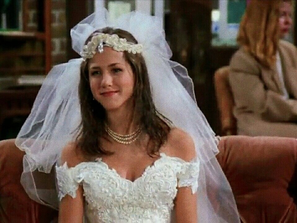 Druzya Jennifer Aniston Wedding Dress Jennifer Aniston Wedding Wedding Dresses