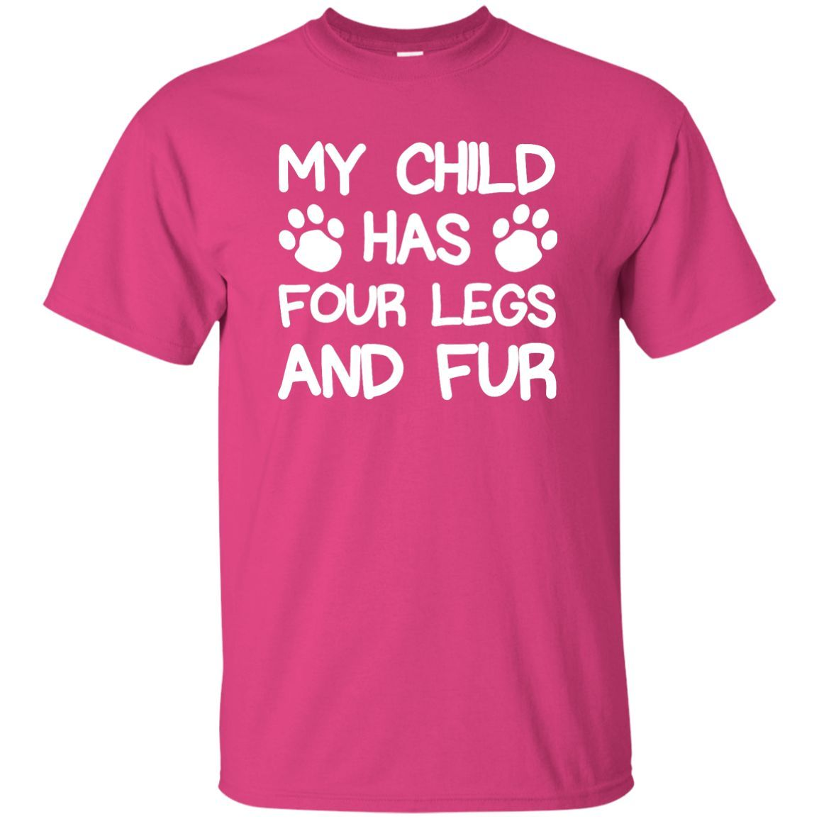 Four Legs And Fur - T Shirt