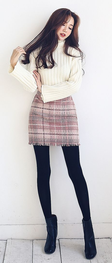 lovely women's winter outfits
